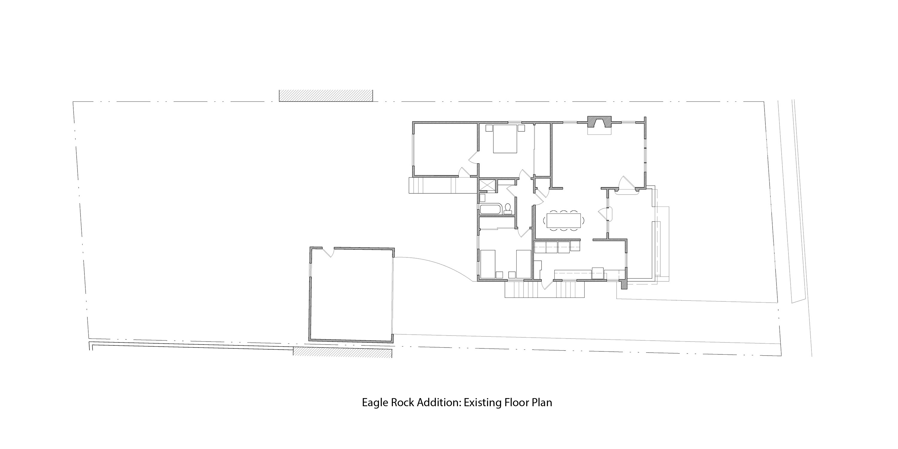 Parson Architecture Eagle Rock Modern Addition Plan Before