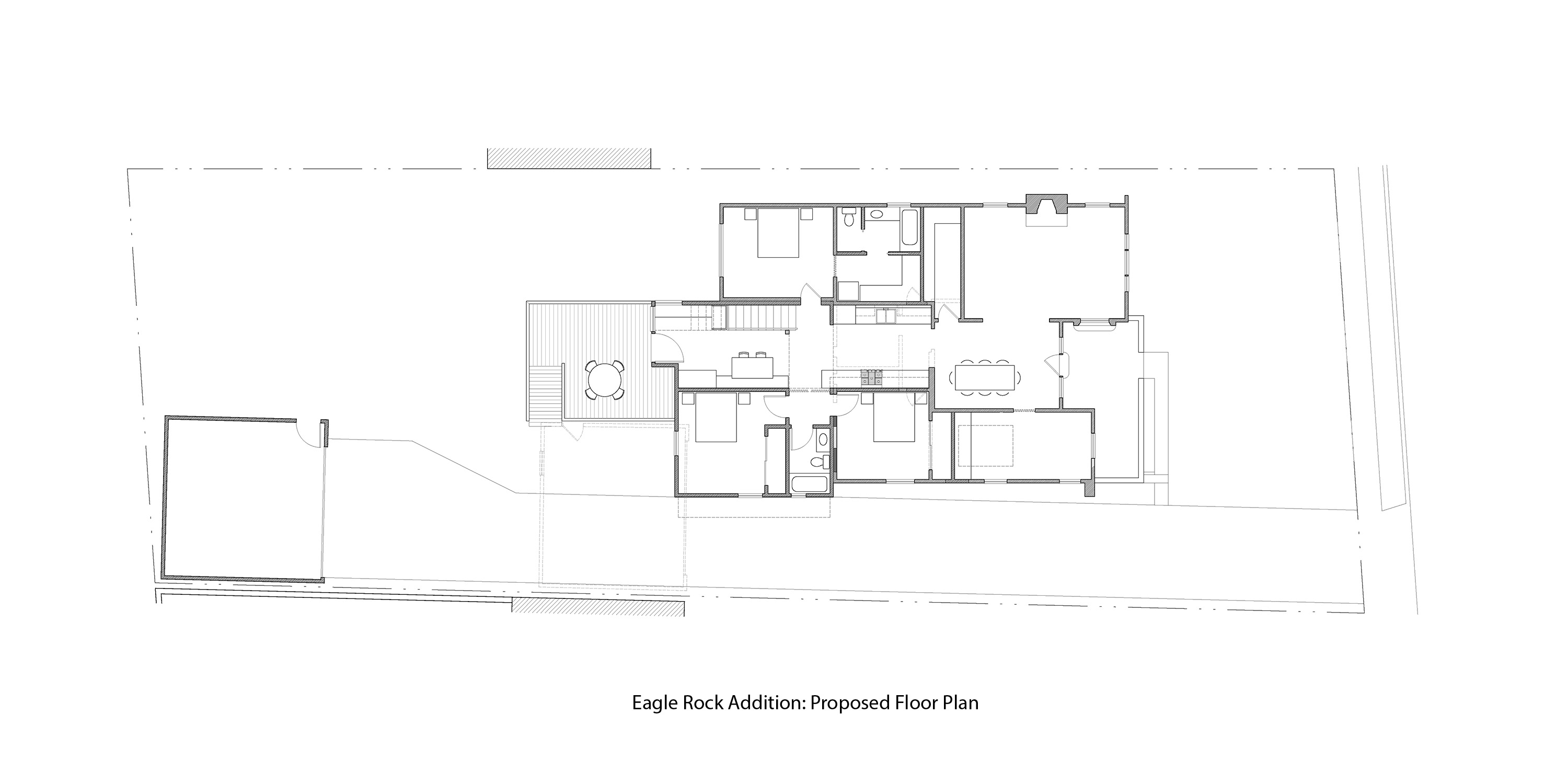 Parson Architecture Eagle Rock Modern Addition Plan After
