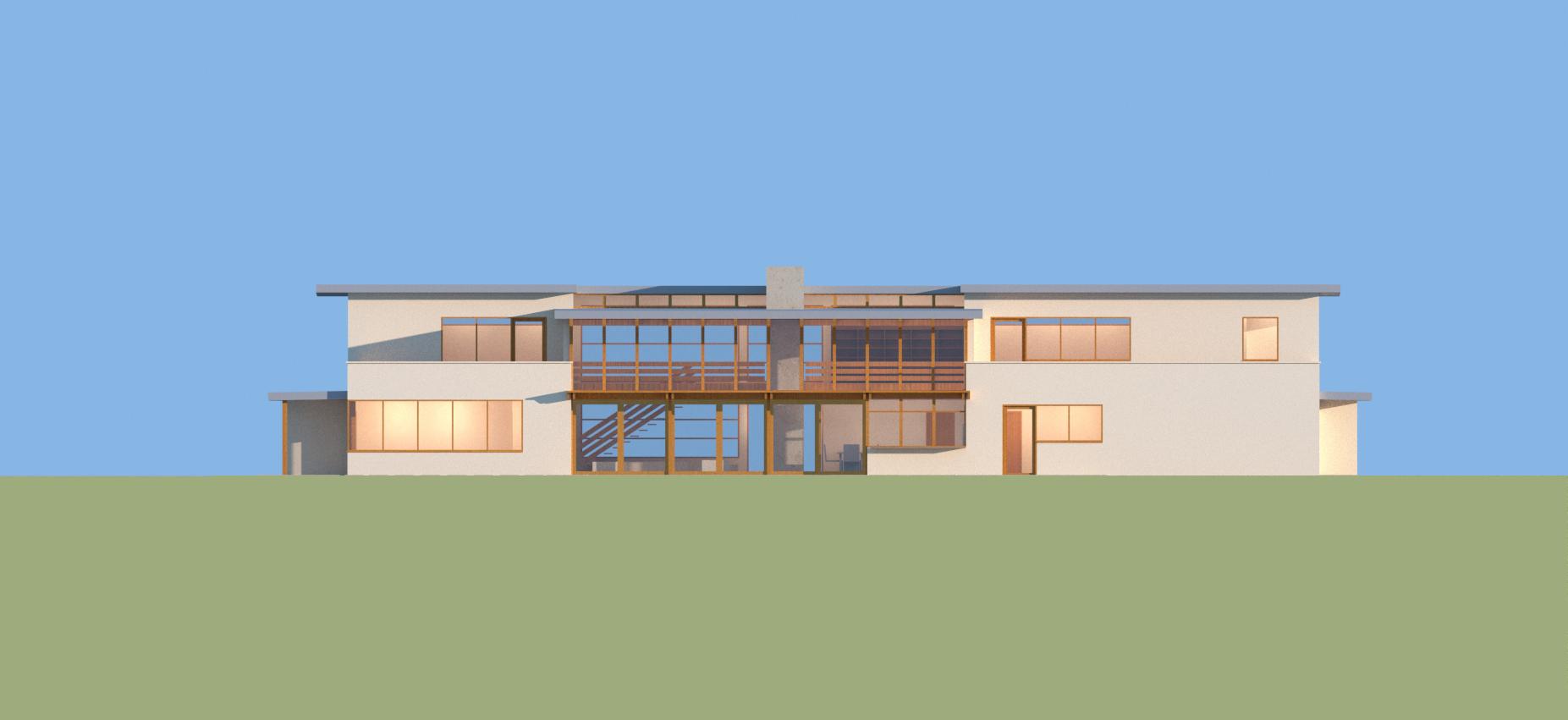 horizon line house parson architecture