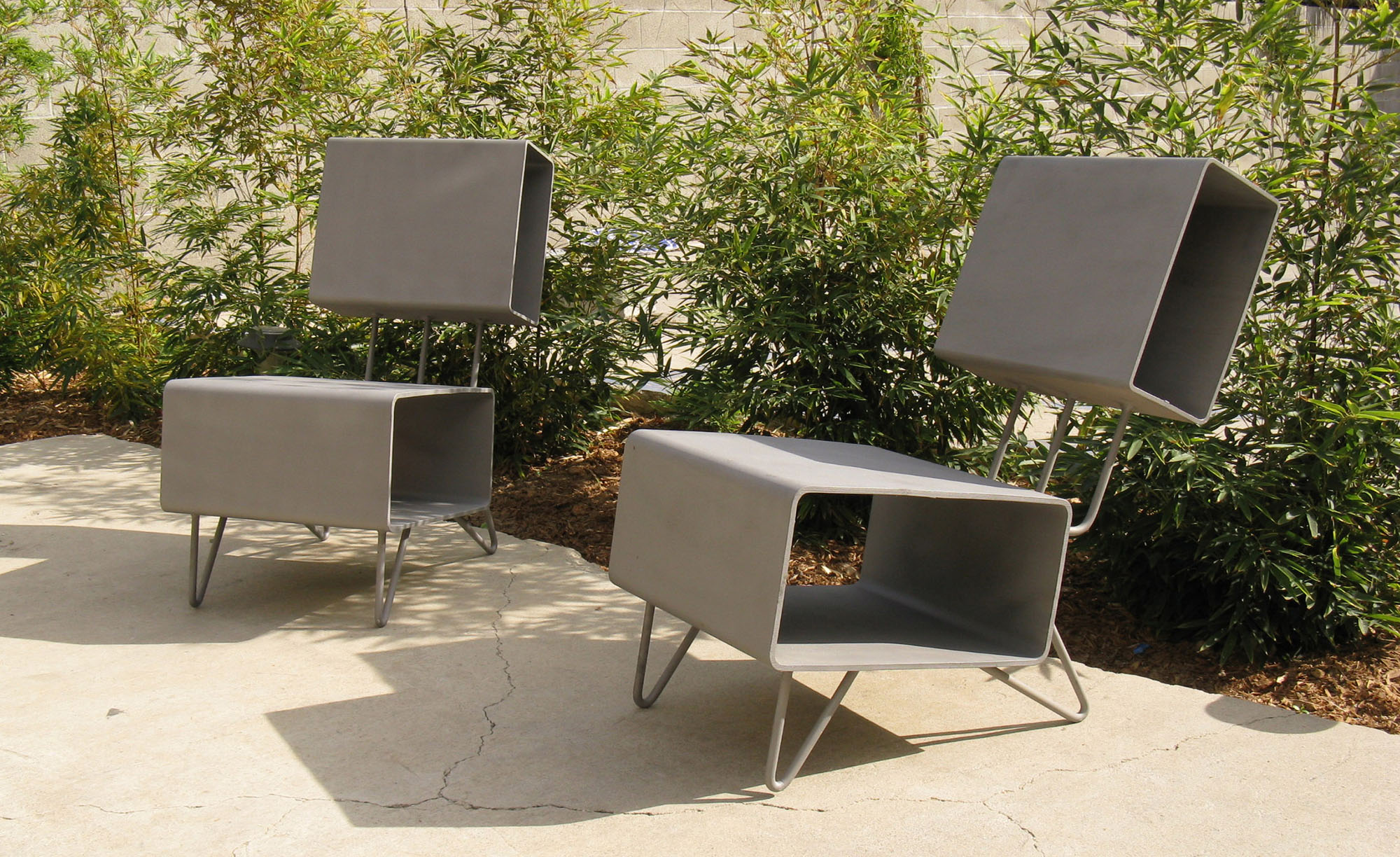 Parson Architecture Custom Furniture 05 Steel Chairs-a