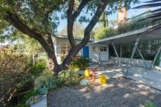 Parson Architecture Franklin Hills Midcentury Modern Exterior Front