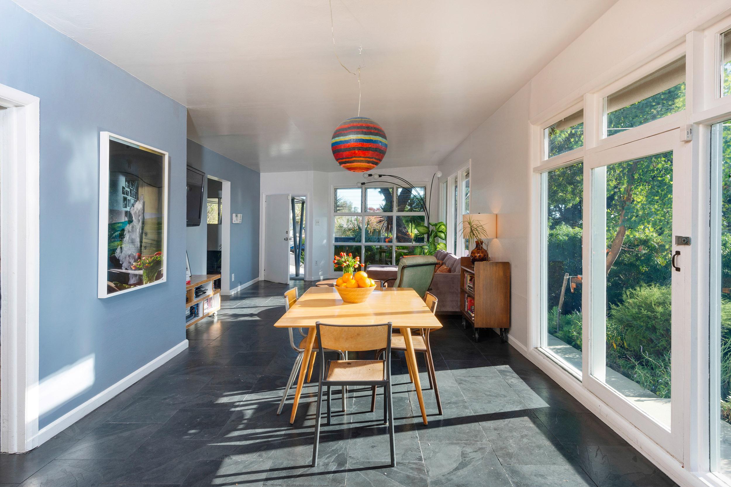 Parson Architecture Franklin Hills Midcentury Modern Dining Living
