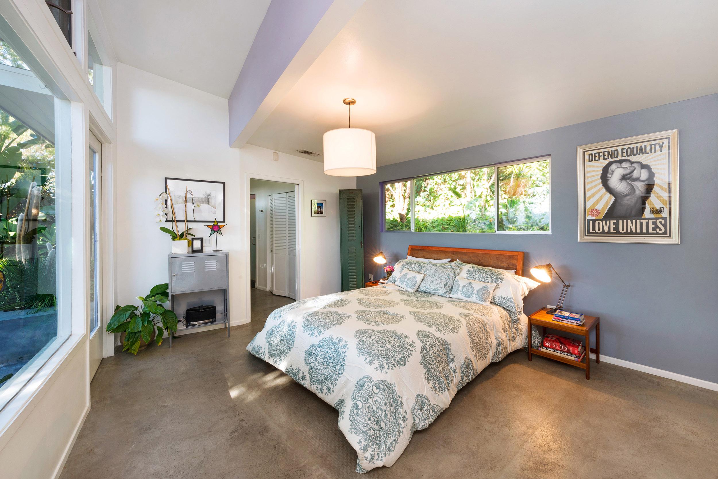 Parson Architecture Franklin Hills Midcentury Modern Master Bedroom