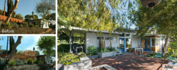 Parson Architecture Franklin Hills Midcentury Modern Before-After Exterior