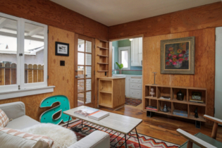Parson Architecture Highland Park Craftsman Restoration Interior Midcentury Plywood
