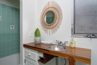 Parson Architecture Highland Park Craftsman Restoration Interior Bathroom Tile