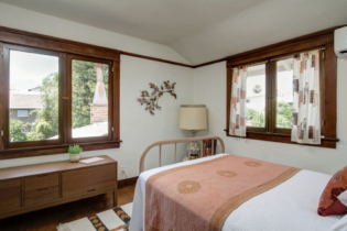 Parson Architecture Highland Park Craftsman Restoration Interior Bedroom