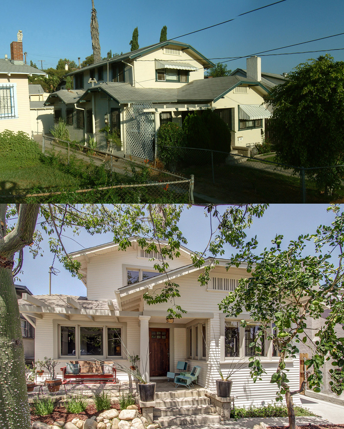 parson-architecture-highland-park-craftsman-restoration-before-after-front