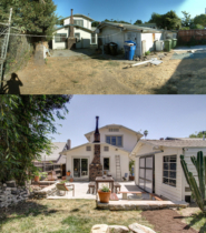 Parson Architecture Highland Park Craftsman Restoration Exterior Before After