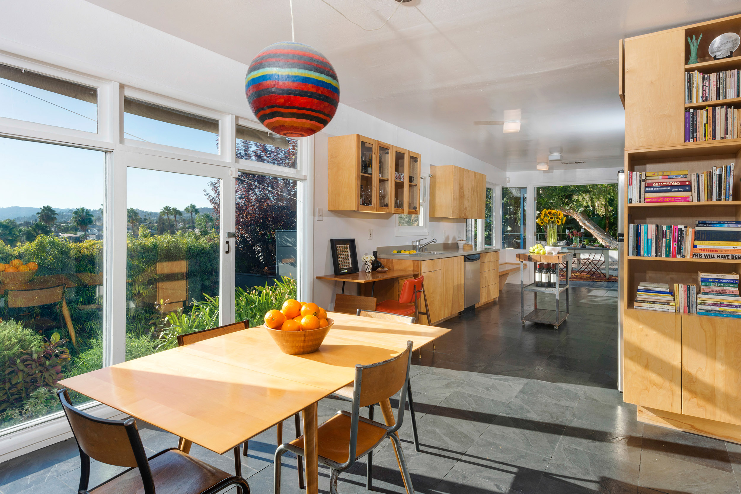 Parson Architecture Franklin Hills Midcentury Modern Dining Kitchen