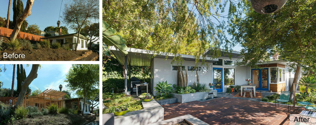 Parson Architecture Franklin Hills Midcentury Modern Before-After-Ext