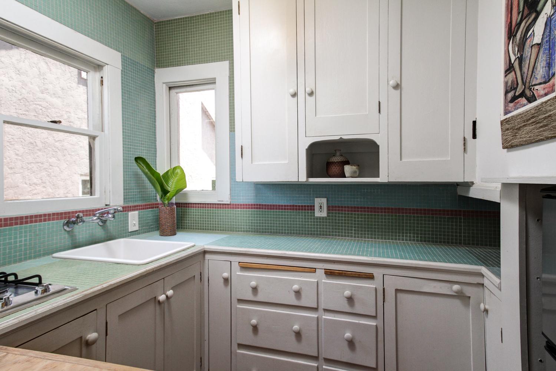 Parson Architecture Highland Park Craftsman Restoration Interior Kitchen Tile